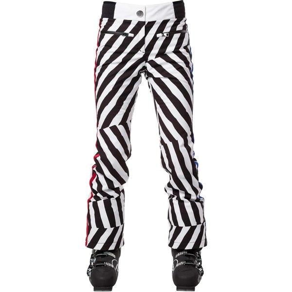 ロシニョール レディース ジャケット&ブルゾン アウター Skifi Stripe Ski Pants 9at - Optical Oblics