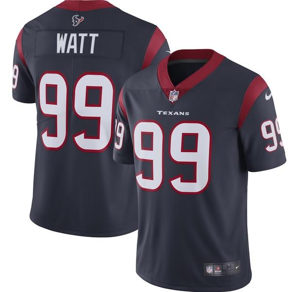 ナイキ メンズ ユニフォーム トップス J.J. Watt Houston Texans Nike Vapor Limited Jersey Red
