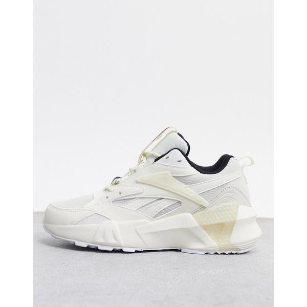 リーボック レディース スニーカー シューズ Reebok Aztrek Double sneakers in white White