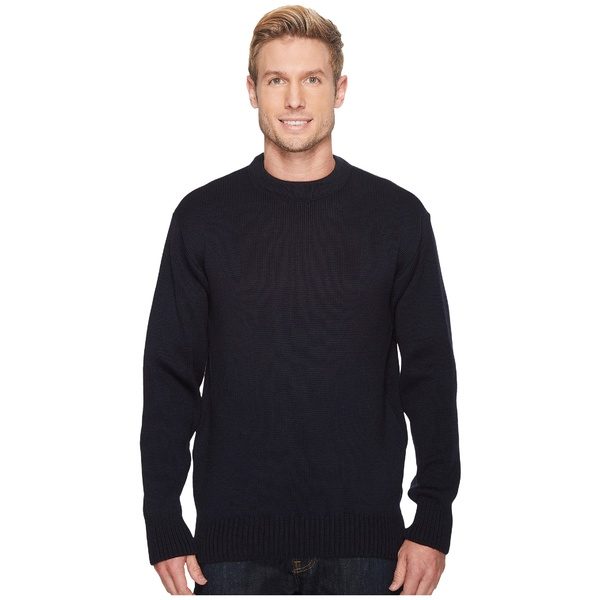 フィルソン メンズ ニット&セーター アウター Crew Neck Guide Sweater Dark Navy