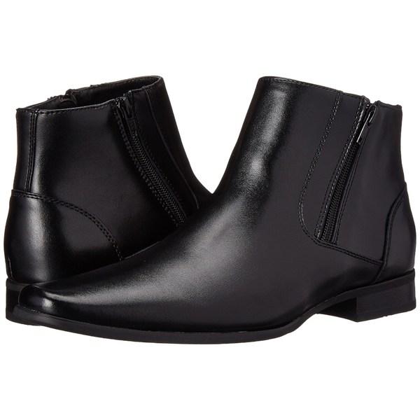 カルバンクライン メンズ ブーツ&レインブーツ シューズ Beck Black Leather