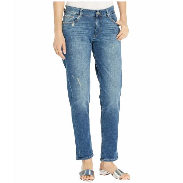 ディーエル1961 レディース デニムパンツ ボトムス Riley Mid-Rise Boyfriend Jeans in Adams Adams