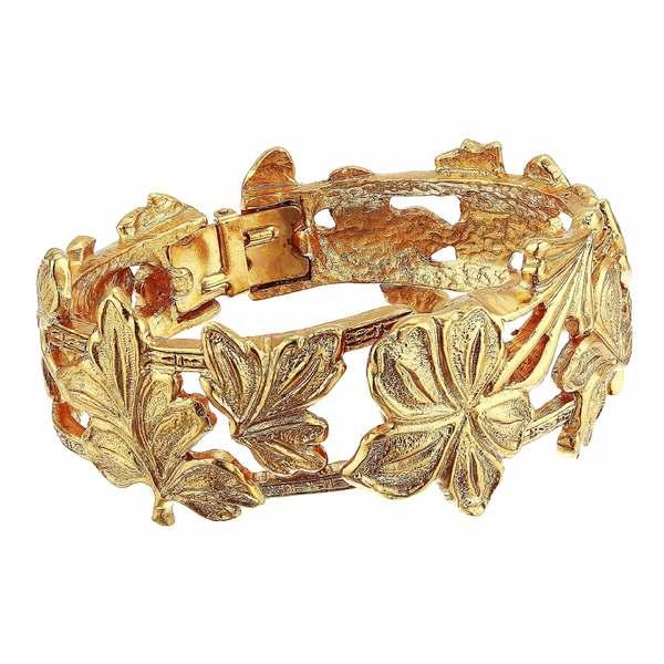 オスカー デ ラ レンタ レディース ブレスレット・バングル・アンクレット アクセサリー Fan Bracelet Gold