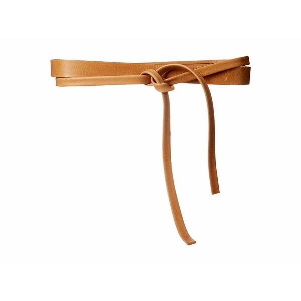 アダ レディース ベルト アクセサリー Skinny Wrap Belt Tan