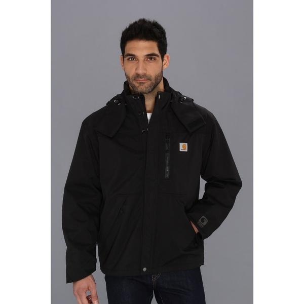 新作通販 カーハート メンズ アウター コート 全商品無料サイズ交換 Shoreline Jacket Black 今だけスーパーセール限定