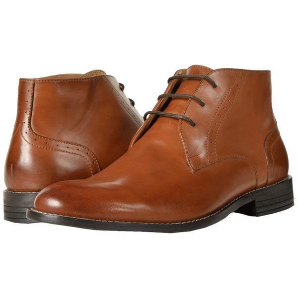 ノンブッシュ メンズ ブーツ&レインブーツ シューズ Savage Plain Toe Chukka Boot Cognac