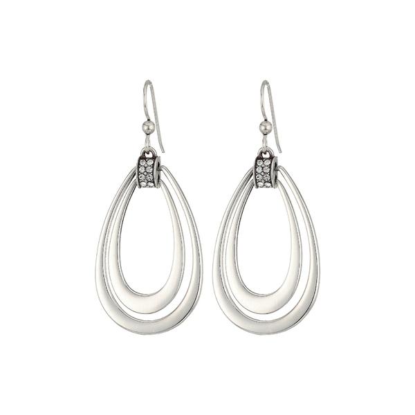 ブライトン レディース ピアス&イヤリング アクセサリー Meridian Swing French Wire Earrings Crystal