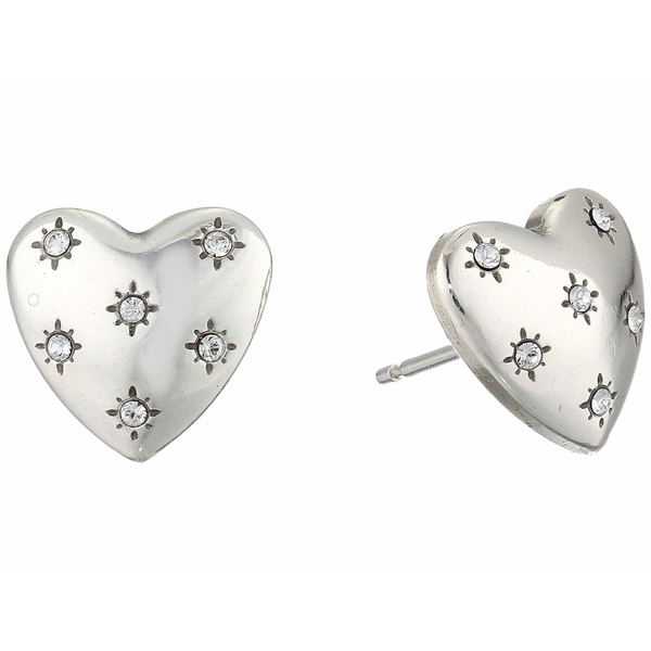 ブライトン レディース ピアス&イヤリング アクセサリー Stellar Heart Post Earrings Crystal