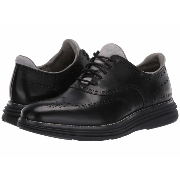 コールハーン メンズ ドレスシューズ シューズ Original Grand Ultra Wing Ox Black Leather/Black