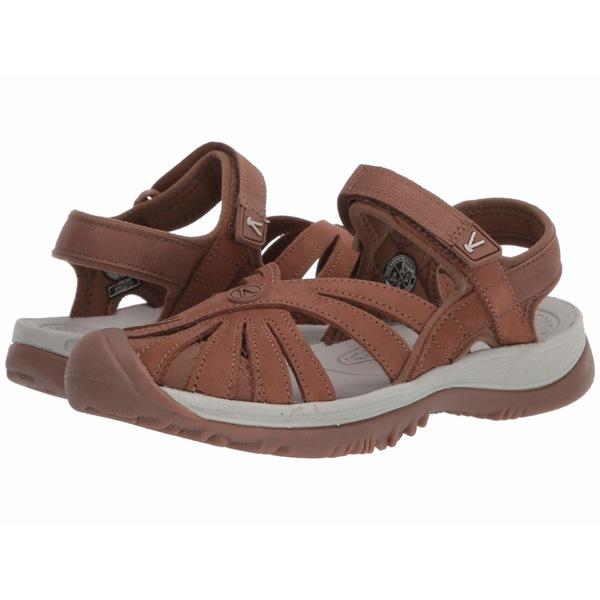 キーン レディース サンダル シューズ Rose Sandal Leather Tan