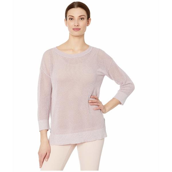トリバル レディース ニット&セーター アウター 3/4 Sleeve Lurex Sweater Lilac