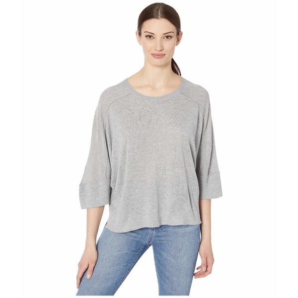 トリバル レディース ニット&セーター アウター Dolman 3/4 Sleeve Sweater Grey Mix