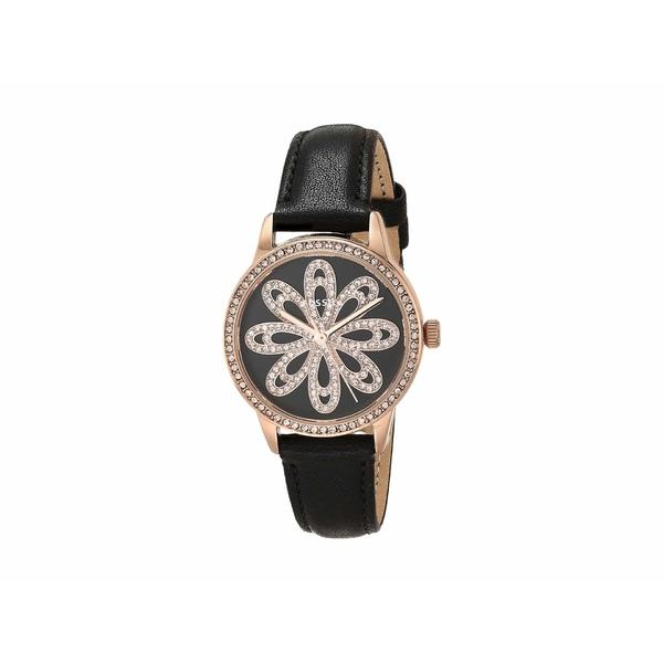 フォッシル レディース 腕時計 アクセサリー 30 mm Dinah BQ7006 Black