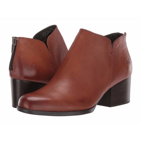 ボーン レディース ブーツ&レインブーツ シューズ Aare Brown Full Grain Leather