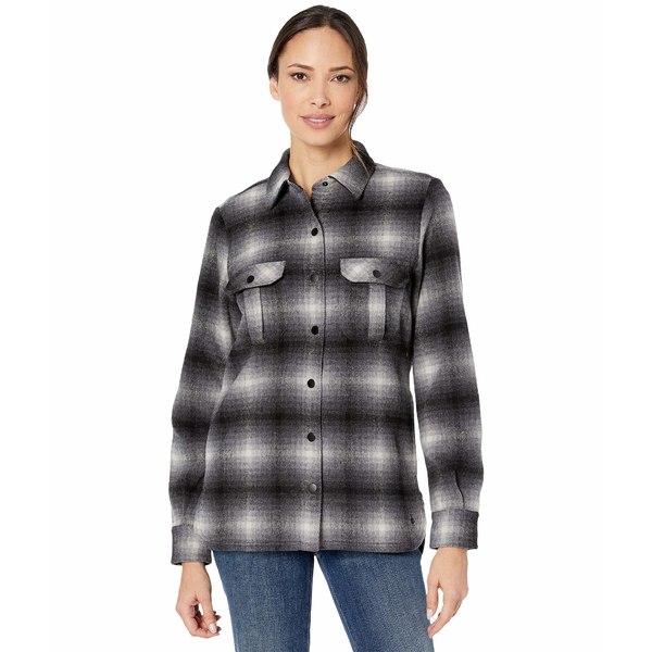 スマートウール レディース コート アウター Anchor Line Shirt Jacket Medium Gray