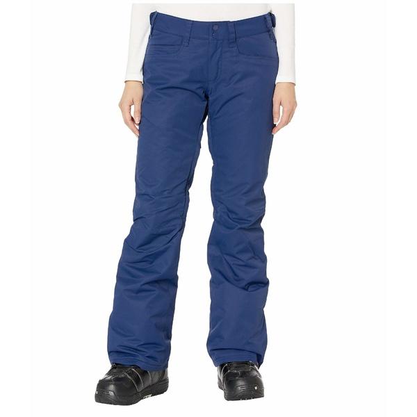 ロキシー レディース カジュアルパンツ ボトムス Backyard Snow Pants Medieval Blue