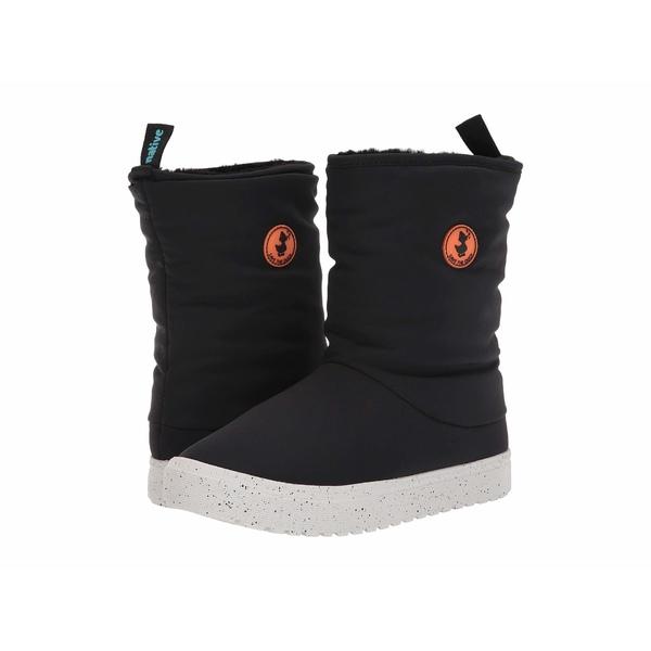 セーブザダック レディース ブーツ&レインブーツ シューズ Native Shoes Lhotse Boots Black