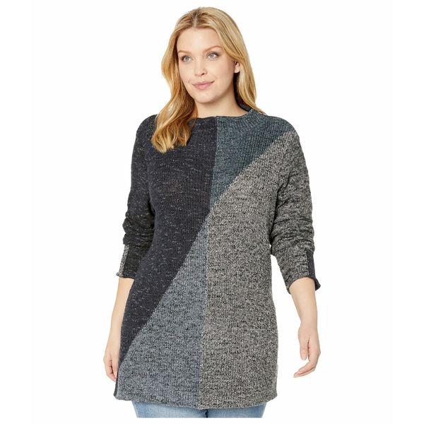 ニックプラスゾーイ レディース ニット&セーター アウター Plus Size Chilled Angle Sweater Multi