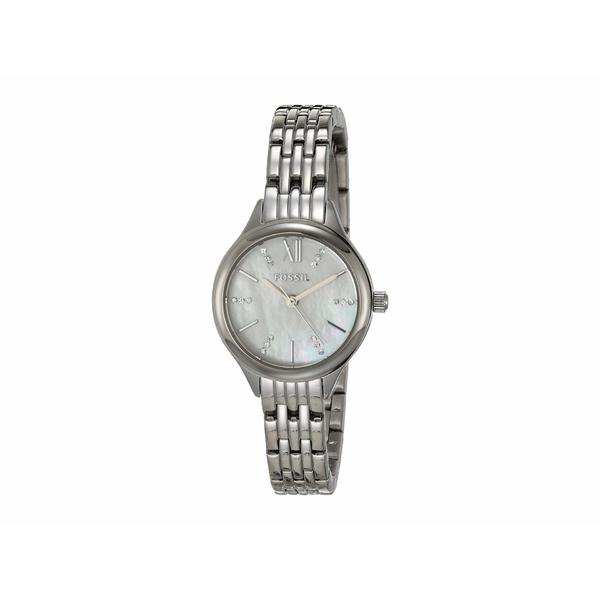 フォッシル レディース 腕時計 アクセサリー 26 mm Suitor Mini BQ3332 Silver