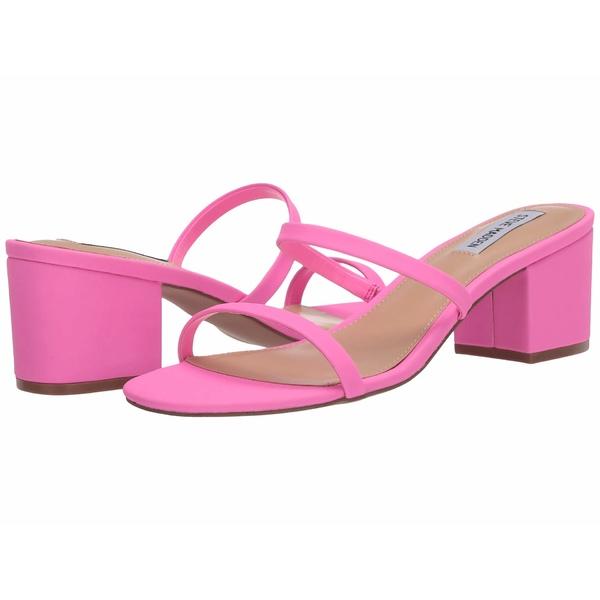 スティーブ マデン レディース ヒール シューズ Issy Heeled Sandal Pink Neon