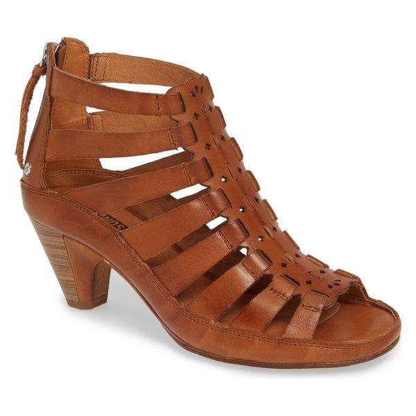 ピコリーノス レディース サンダル シューズ PIKOLINOS Java Gladiator Sandal (Women) Black Leather