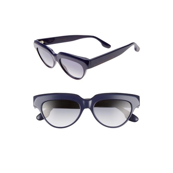 ヴィクトリア ベッカム レディース サングラス&アイウェア アクセサリー Victoria Beckham 53mm Gradient Cat Eye Sunglasses Navy