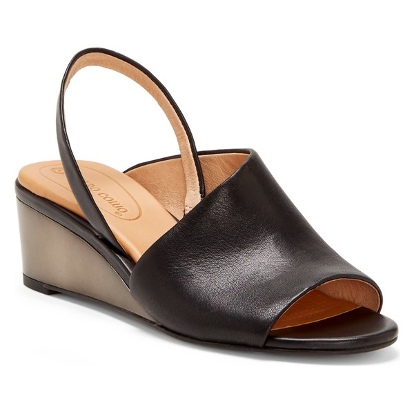 CCコルソコモ レディース サンダル シューズ CC Corso Como Ritah Slingback Sandal (Women) Black Leather