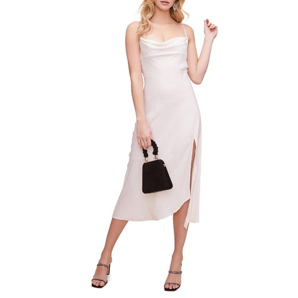 アストール レディース ワンピース トップス ASTR the Label Cowl Neck Midi Dress Off White