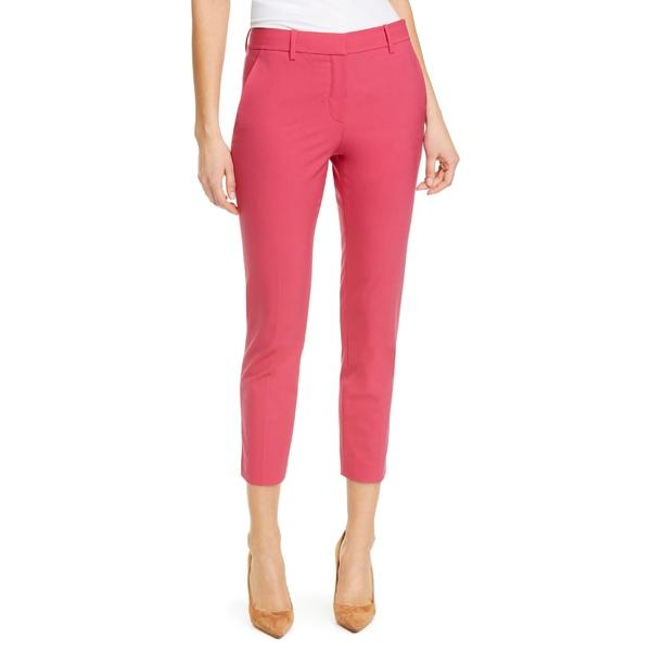 セオリー レディース カジュアルパンツ ボトムス Theory Treeca 2 Good Wool Crop Suit Pants (Nordstrom Exclusive) Watermelon