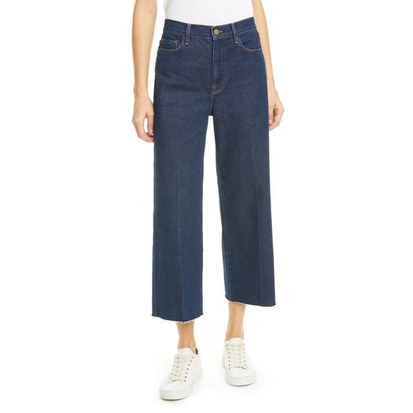 フレーム レディース カジュアルパンツ ボトムス FRAME Ali High Waist Wide Leg Crop Jeans (Bronx) Bronx