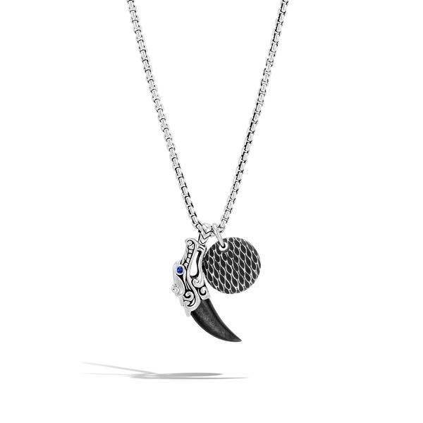 ジョン・ハーディー メンズ アクセサリー ネックレス・チョーカー Silver 全商品無料サイズ交換 ジョン・ハーディー メンズ ネックレス・チョーカー アクセサリー John Hardy Men's Legends Naga Charm Necklace Silver