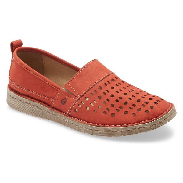 ジョセフセイベル レディース サンダル シューズ Josef Seibel Sofie 27 Flat (Women) Red Leather