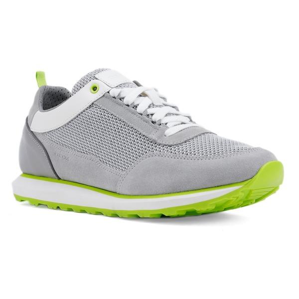 ジェオックス メンズ スニーカー シューズ Geox Volto 2 Sneaker (Men) Light Grey/ White