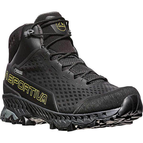 ラスポルティバ メンズ ハイキング スポーツ La Sportiva Men's Stream GTX Boot Black / Yellow