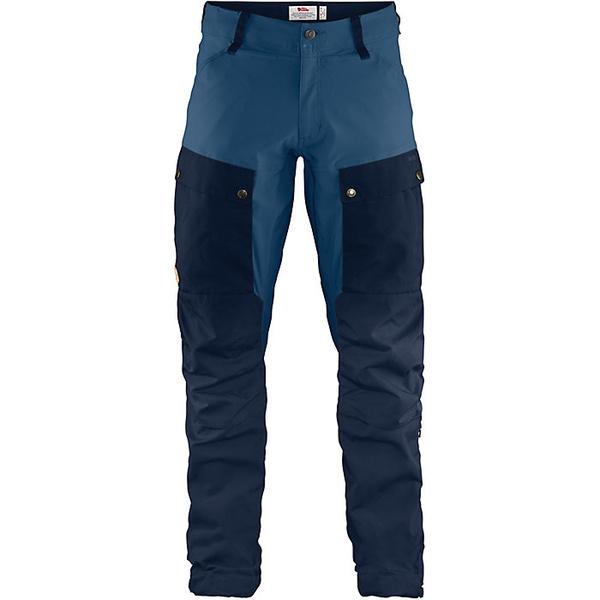 フェールラーベン メンズ ハイキング スポーツ Fjallraven Men's Keb Trouser Dark Navy-Uncle Blue