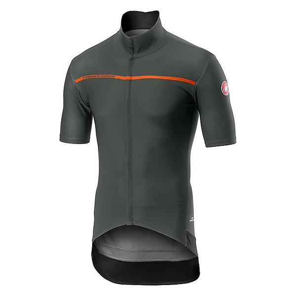 カステリ メンズ サイクリング スポーツ Castelli Men's Gabba 3 Top Forest Grey