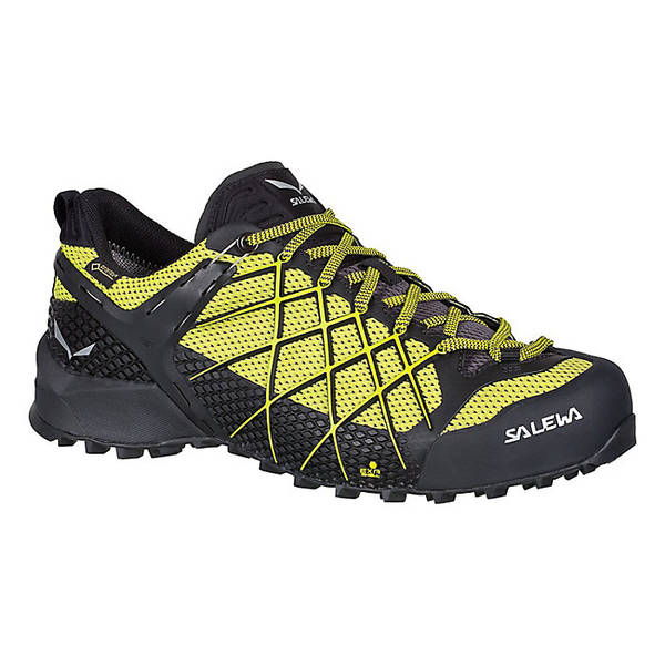 サレワ メンズ ハイキング スポーツ Salewa Men's Wildfire GTX Shoe Black Out / Mimosa
