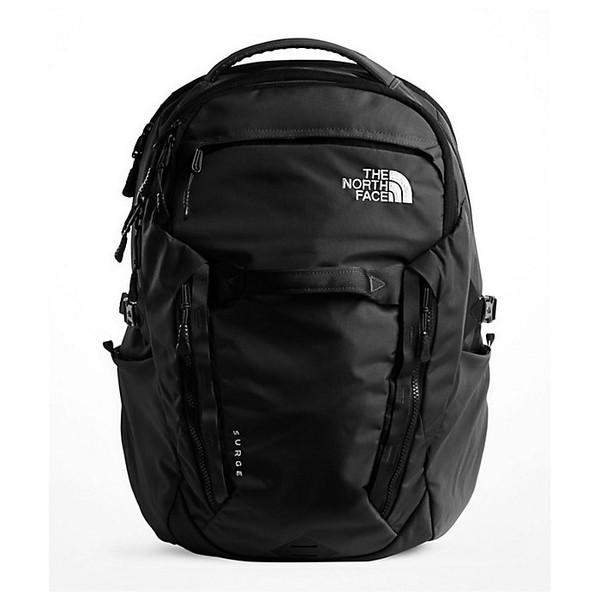 ノースフェイス メンズ バックパック・リュックサック バッグ The North Face Surge Backpack TNF Black