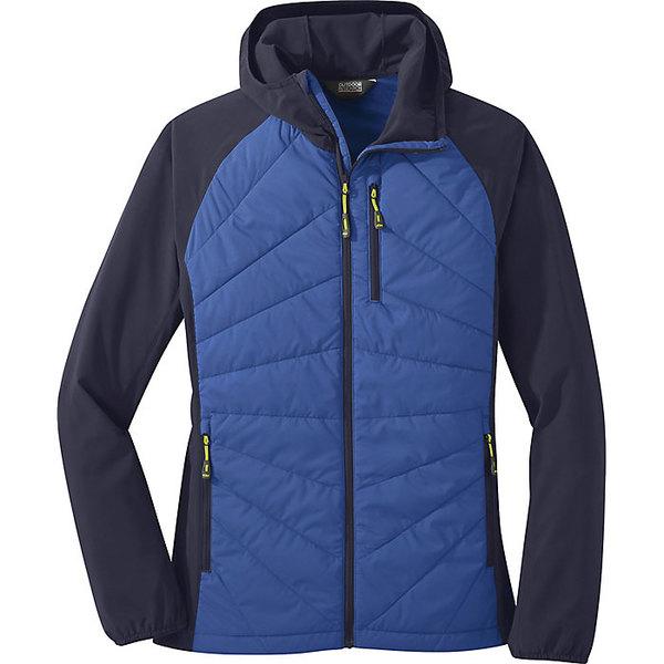 アウトドアリサーチ レディース ジャケット&ブルゾン アウター Outdoor Research Women's Refuge Hybrid Hooded Jacket Lapis/Naval Blue