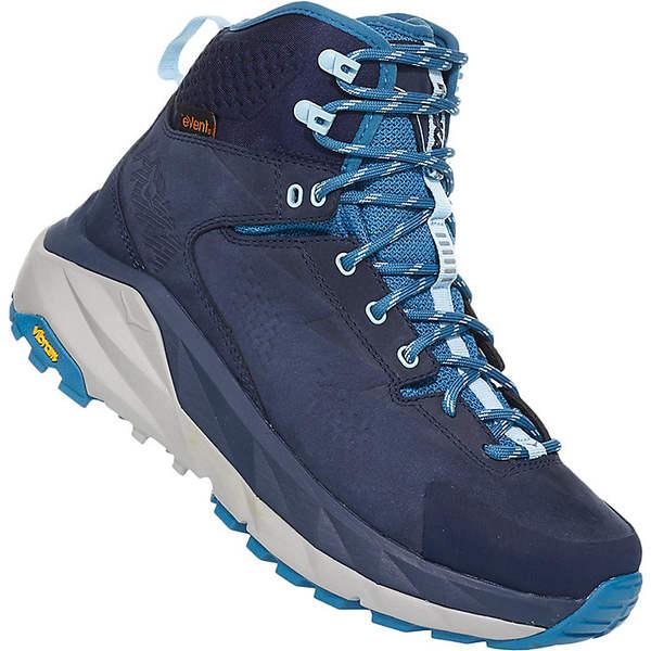 ホッカオネオネ レディース ハイキング スポーツ Hoka One One Women's Sky Kaha Shoe Black Iris / Blue Sapphire