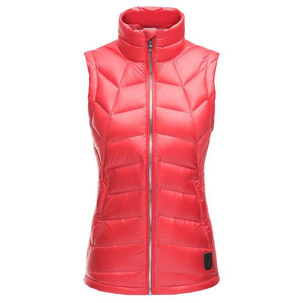スパイダー レディース ジャケット&ブルゾン アウター Spyder Women's Syrround Down Vest Hibiscus / Hibiscus