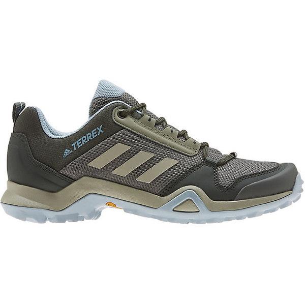 アディダス レディース ハイキング スポーツ Adidas Women's Terrex AX3 Shoe Legacy Green / Feather Grey / Ash Grey