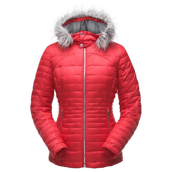 スパイダー レディース ジャケット&ブルゾン アウター Spyder Women's Edyn Hoody Insulated Jacket Hibiscus / Hibiscus