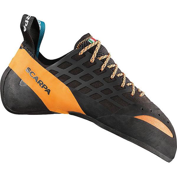 スカルパ メンズ ハイキング スポーツ Scarpa Instinct Climbing Shoe Black/Orange