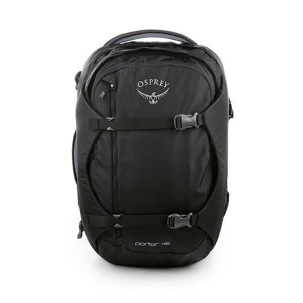 オスプレー メンズ ボストンバッグ バッグ Osprey Porter 46 Backpack Black