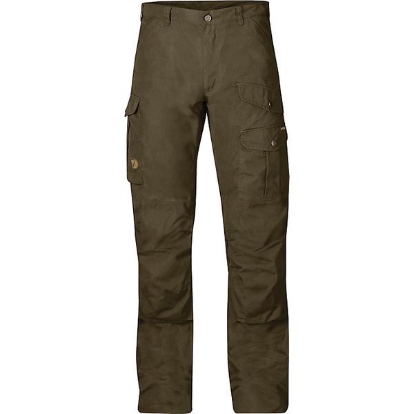 フェールラーベン メンズ ハイキング スポーツ Fjallraven Men's Barents Pro Trouser Dark Olive / Dark Olive