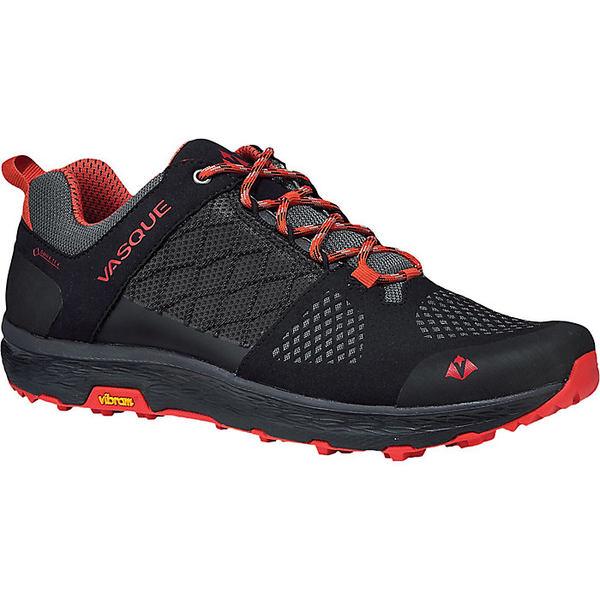 バスク メンズ ハイキング スポーツ Vasque Men's Breeze LT Low GTX Shoe Anthracite/Red Clay