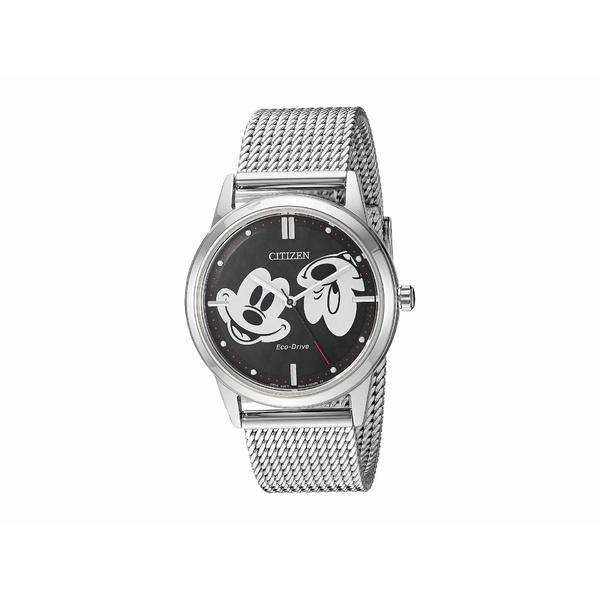 シチズンウォッチ メンズ 腕時計 アクセサリー Mickey Mouse FE7060-56W Silver Tone