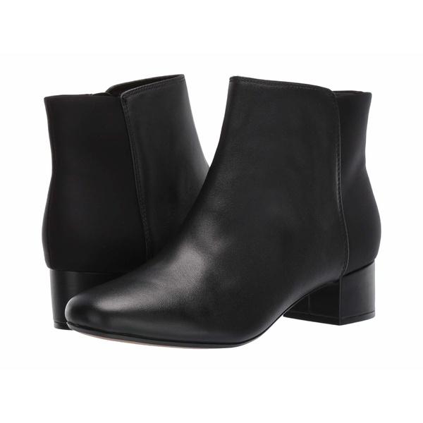 クラークス レディース ブーツ&レインブーツ シューズ Chartli Valley Black Combo Leather