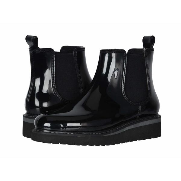 クーガー レディース ブーツ&レインブーツ シューズ Kensington Waterproof Black/Charcoal Gloss